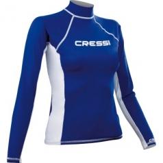 Лайкровая футболка Cressi женская с длинным рукавом.