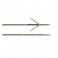 Гарпун САРГАН, д/арбалетов, зацеп-прорез, сталь 174 Ph, D 6,5мм, 95 см, 2 флажка