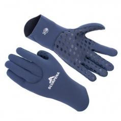 Перчатки Scorpena B - 3 мм, синие.