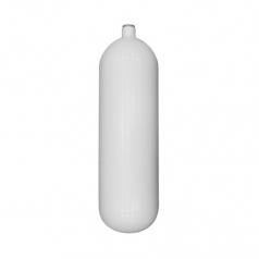 Баллон BTS 10л Стальной, 230bar, d171мм, белый, без вентиля и башмака