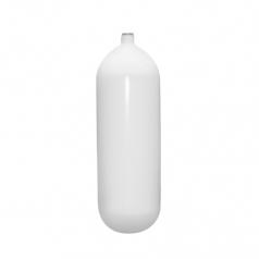 Баллон BTS 16л Стальной, 230bar, d204мм, белый, без вентиля и башмака