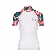 Лайкра BILLABONG FLOWER SS WHITE