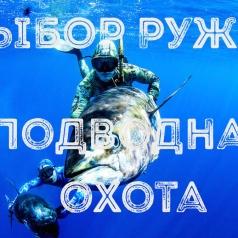 Выбираем ружье для подводной охоты